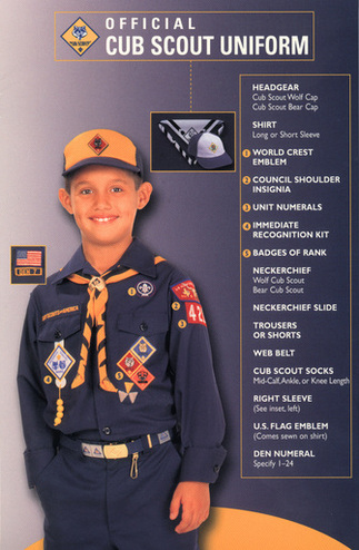 Ranks Cub Scout Pack 531 Mckinney Tx